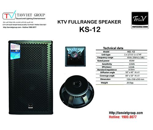TPLUSV SPEAKER KS-12