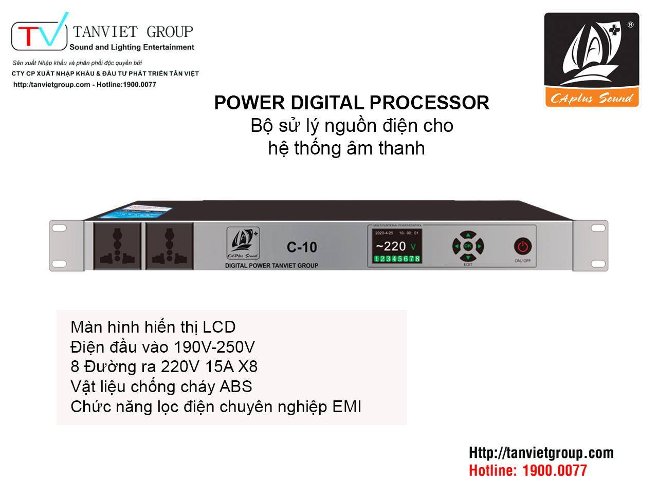 POWER DIGITAL PROCESSOR