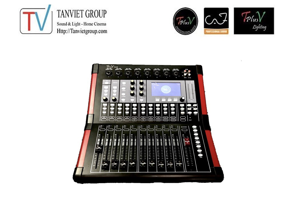 Mixer Digital TplusV DX16
