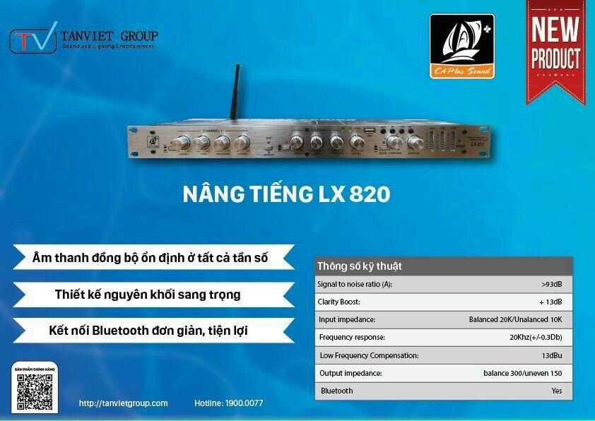 Nâng tiếng LX 820