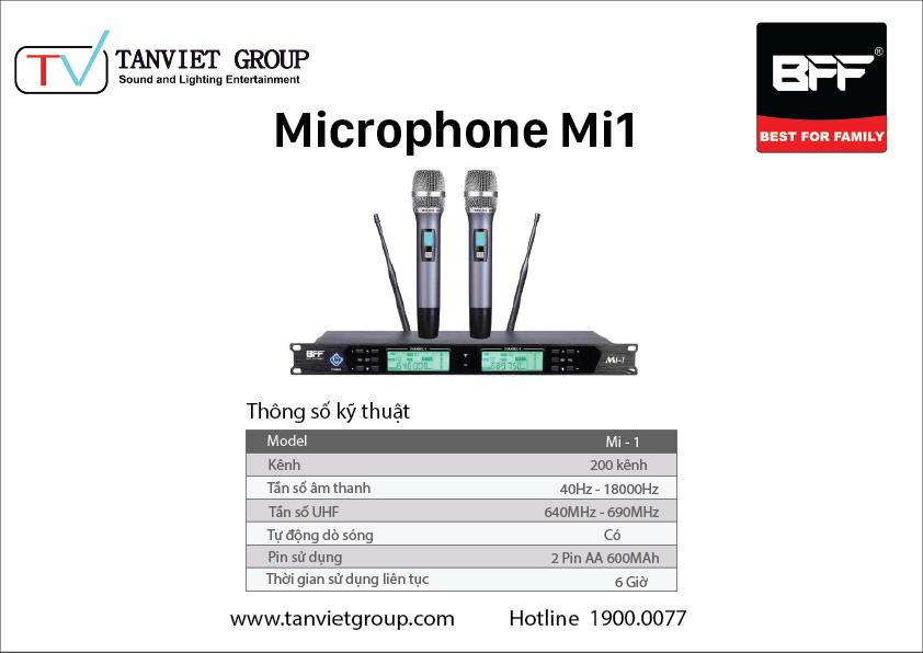 Microphone Mi1